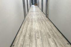 Lihvitud ja õlitatud põrand.